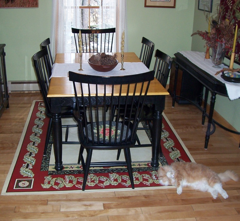 Painted Kitchen Floor Cloth: Hand Painted Floor Cloths And Hand Hooked Rugs Sandy Ducharme