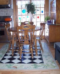 Painted Floorcloths Sandy Ducharme Designs Painted
