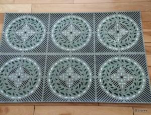 Historic Stencil Floorcloth